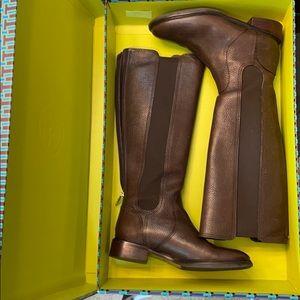 Tory burch coconut boots flats